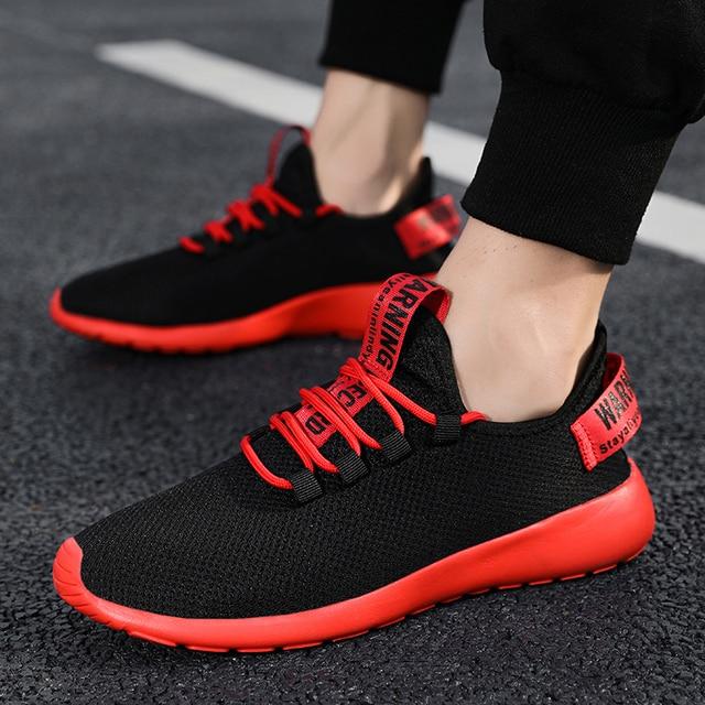 Men Vulcanize Shoes Sneakers Breathable Men Casual Shoes No-slip Male Lace Up Men Shoes Lightweight Tenis Masculino Wholesale 3