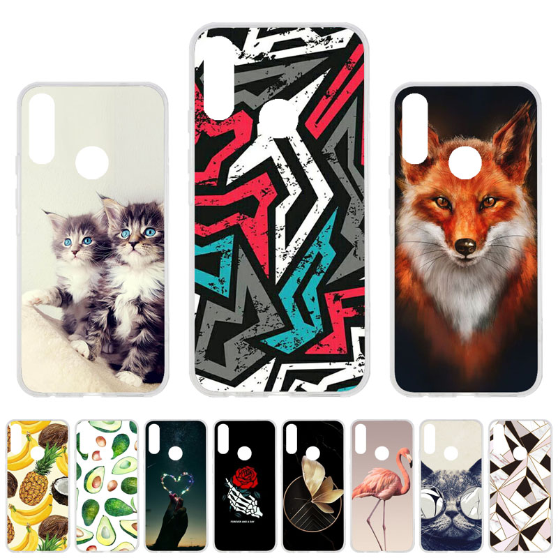 Soft TPU Phone Case For UMIDIGI Power Cases Silicon DIY Painted Back Coque For UMI DIGI Power Case Covers Flower Fundas Bumper