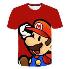 Nieuwste Harajuku Klassieke Games Super Mario Kid T-shirt Mannen/Vrouwen Super Smash Bros 3D Print T-shirt Hip Hop tshirt Streetwear Tops