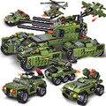 2021 710PCS Tank Bausteine Fahrzeug Flugzeug Junge Spielzeug Figuren Pädagogische Blöcke Militär Kompatibel Bricks