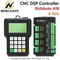 RichAuto DSP A18 4 Achsen CNC Controller A18s A18e USB Verknüpfung Motion Control System Manuelle Für CNC Router NEWCARVE