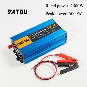 цена на 5000W Car Inverter DC 24V to AC 220V Voltage converter Power Inverter Portable Charger Converter Adapt Rated 2500W