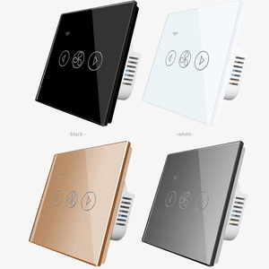 Image 3 - EU Standard Fan Dimmer Wifi App Control Touch Switch Smart Automation Switch 220V Smart Lifi Tuya Phone Faster Slower for Home