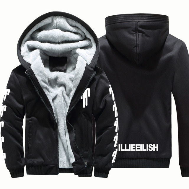 BILLIE EILISH ZIP UP HOODIE JACKET  (11 VARIAN)