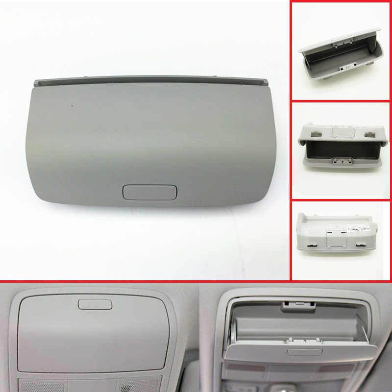 Mobil Atap Interior Kacamata Kotak Penyimpanan Sun Glasses Case Kacamata Pemegang untuk VW Passat B6 Golf 5 MK5 6 MK6 tiguan Luar Biasa Yeti