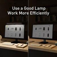 Baseus Screen Light Desk Lamp Computer Light Screen Hanging Light New Table Lamp LCD Monitor Light For Study Laptop USB Light
