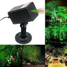 Outdoor Lawn Lamp Laser Projection LED Beam Stage Garden Landscape Home Waterproof Christmas Decoration