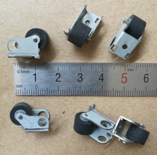 цена на 6Pieces/Lot Wheel D:9mm Pressure Belt Wheel Pulley Recorder Movement Accessories