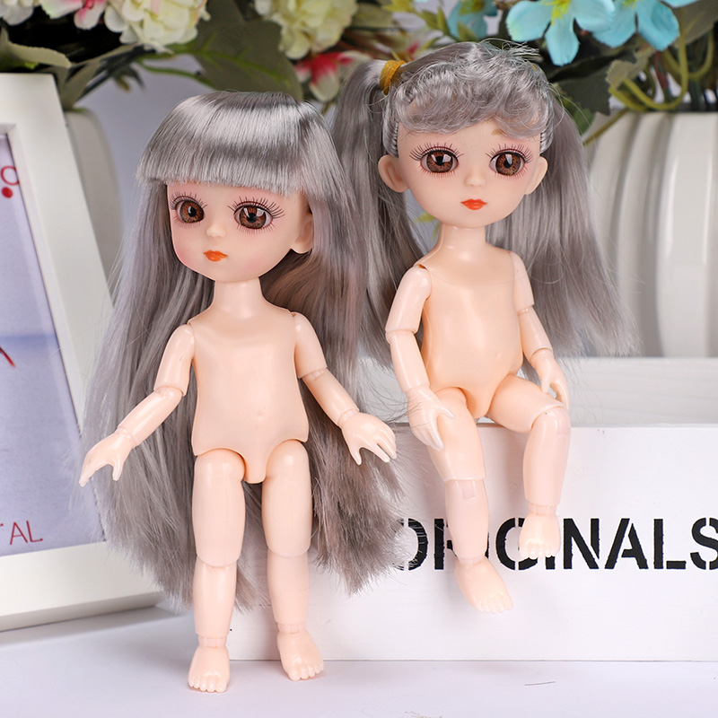 Doll Toys 13 Moveable Jointed Juguetes Bjd Boneca 15cm Dolls Diy Nude Body Fashion Brinquedos Menina Princesas Birthday Present