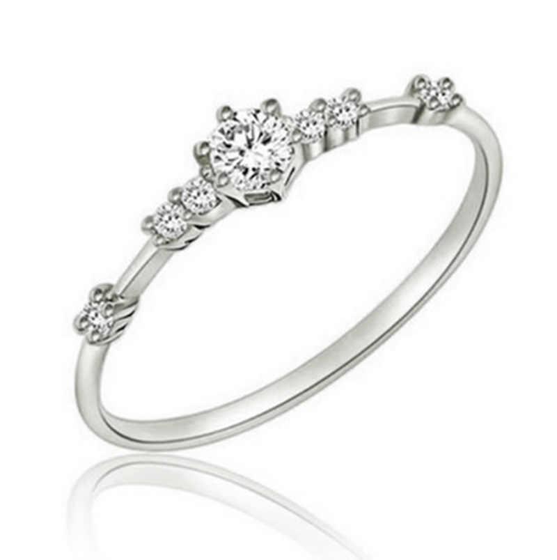 แฟชั่นแหวนทองหักขนาดเล็ก Fine หมั้นแหวนเครื่องประดับ Cross-border Burst อุปกรณ์เสริม CA3051/5
