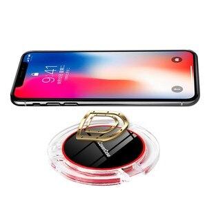 Image 4 - Für Huawei Honor 9X Drahtlose Ladegerät Telefon Zubehör Fall Für Huawei Ehre 9X Pro Qi Power Ladung Lade Pad mit empfänger