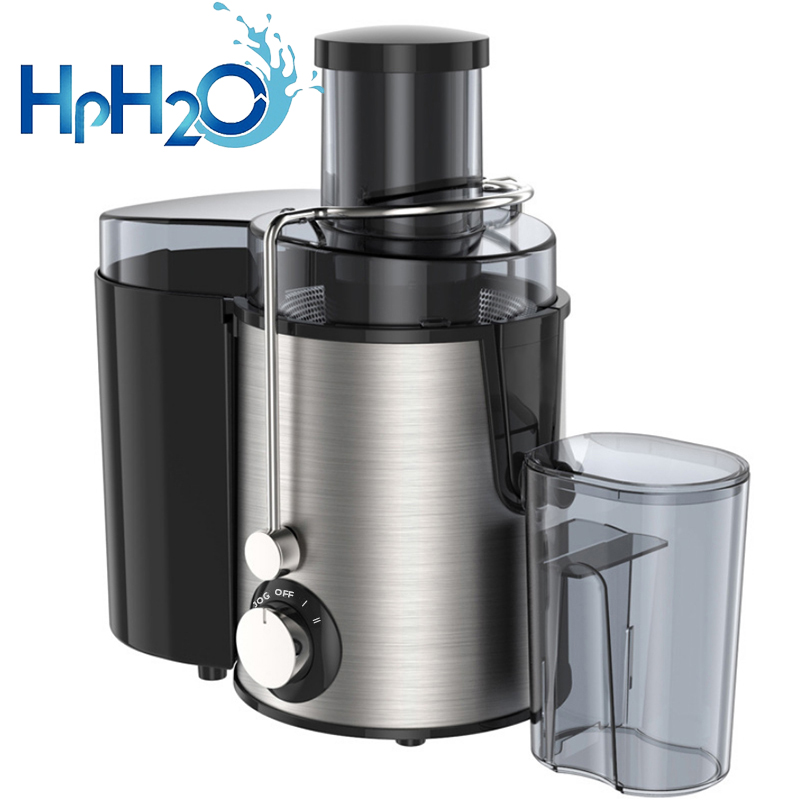HPH2O Stainless Steel 600W 2 Speed Juicer Electric Vegetable Fruit Drinking Machine CE Multi-Function Juicer Extractor Mixer