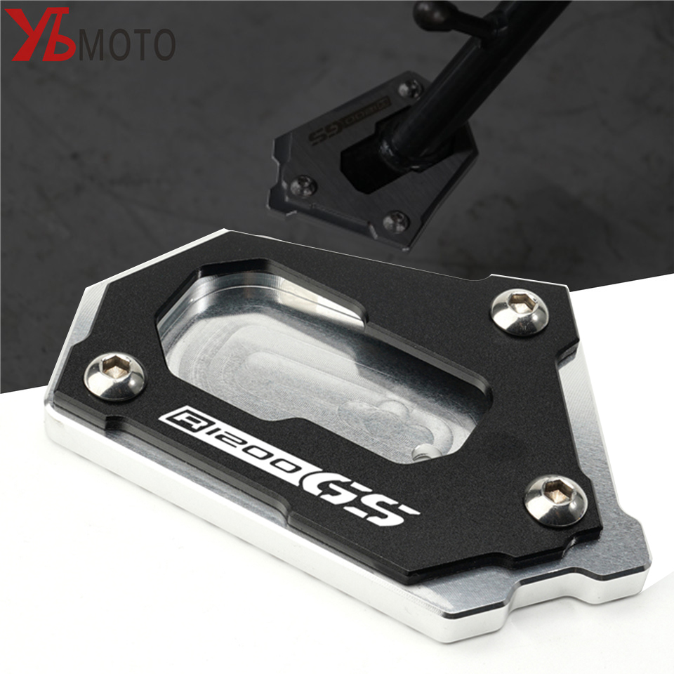 Motorcycle CNC Side Kickstand Stand Extension Plate For BMW R1200GS LC K50 R1200GS Adventure LC K51 R 1200 GS Side Stand Enlarge image