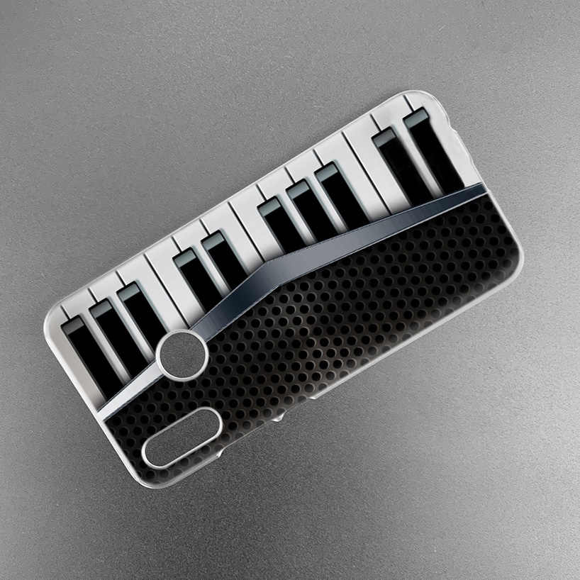 Muzyka stary taśmy rejestrator obudowa do Xiaomi czerwony mi uwaga 7 K20 7S 7A 6 6A Pro S2 5 mi grać 9T CC9 E A1 A2 8 Lite F1 twardy telefon pokrywa