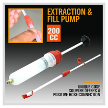 Pompe à main, extracteur et remplissage de liquide dhuile et de bouteille, pour transfert de carburant de voiture, Extraction de carburant, pour les véhicules, stylisme, nouveauté, 200cc