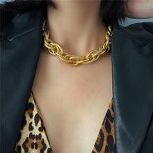 Оптовая продажа; В стиле «панк» цепочка колье ожерелье для женщин
