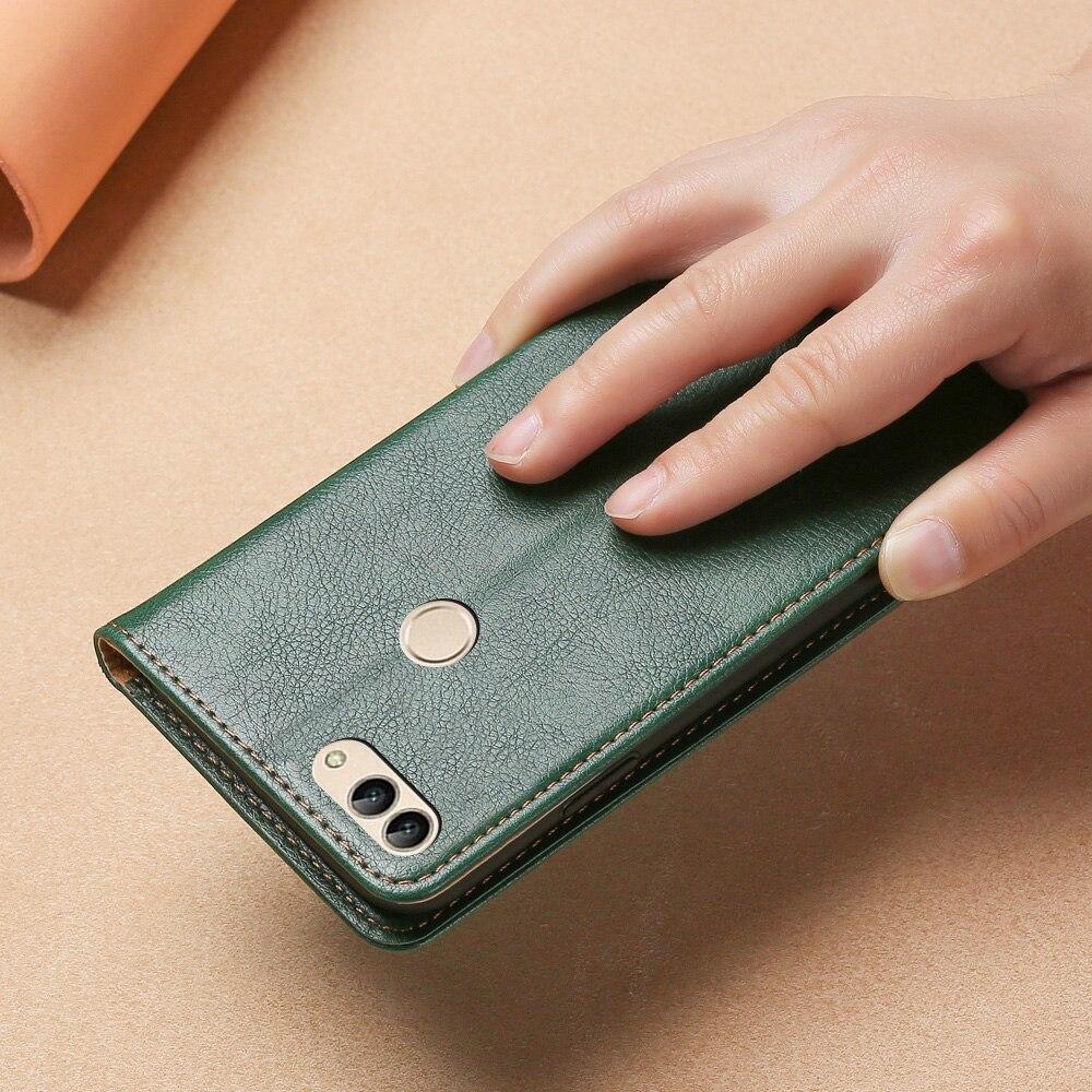 Кожаный чехол для Huawei Enjoy 7S P Smart, Магнитный флип чехол с подставкой, чехол для телефона Huawei Nova Lite 2, чехлы для телефонов|Бамперы| | АлиЭкспресс