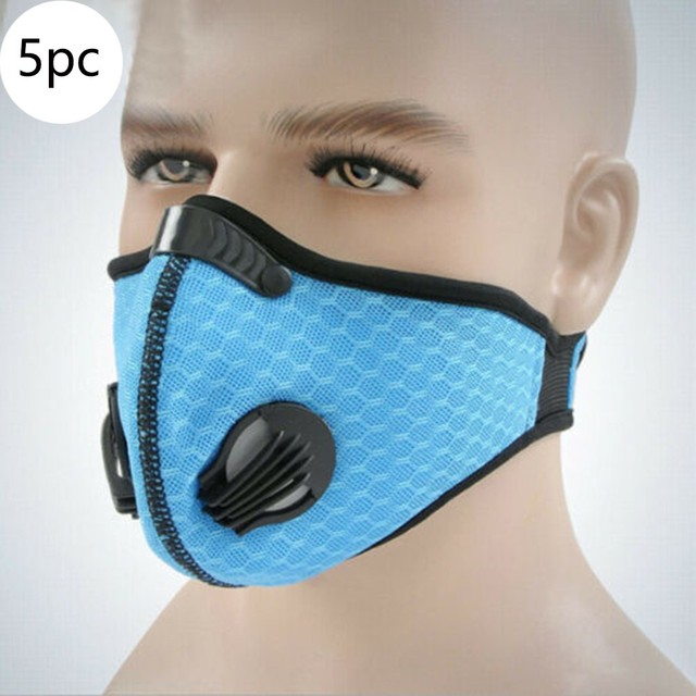 Facemask maske half face mouth-muf