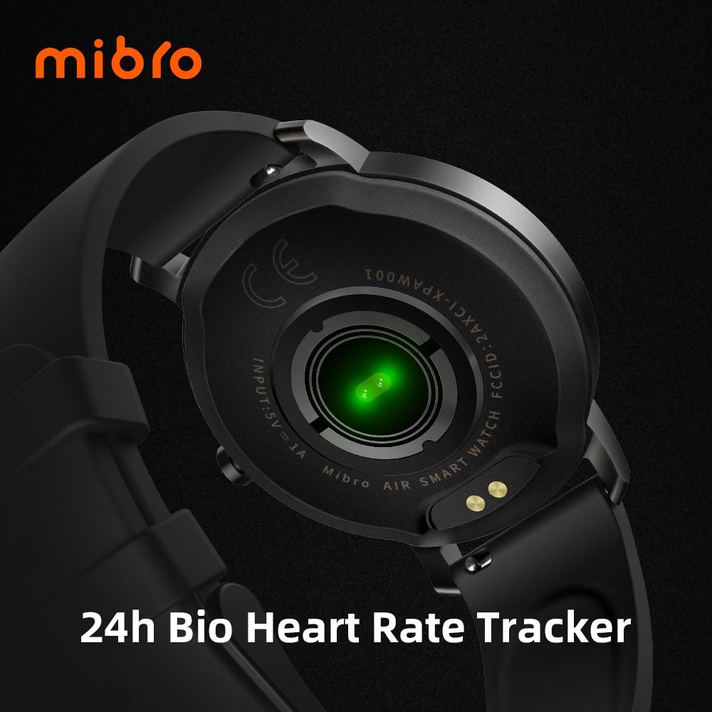 Mibro Air Smart Horloge Mannen Vrouwen IP68 Waterdichte Bluetooth 5 Sleep Monitor Fitness Hartslag Tracker Smartwatch Android Ios 6