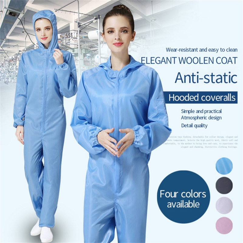 Reusable Protection Suit Work Wear Isolated Uniform From People Contact Clothes Dust-proof Anti-static Coverall Safe Clothing
