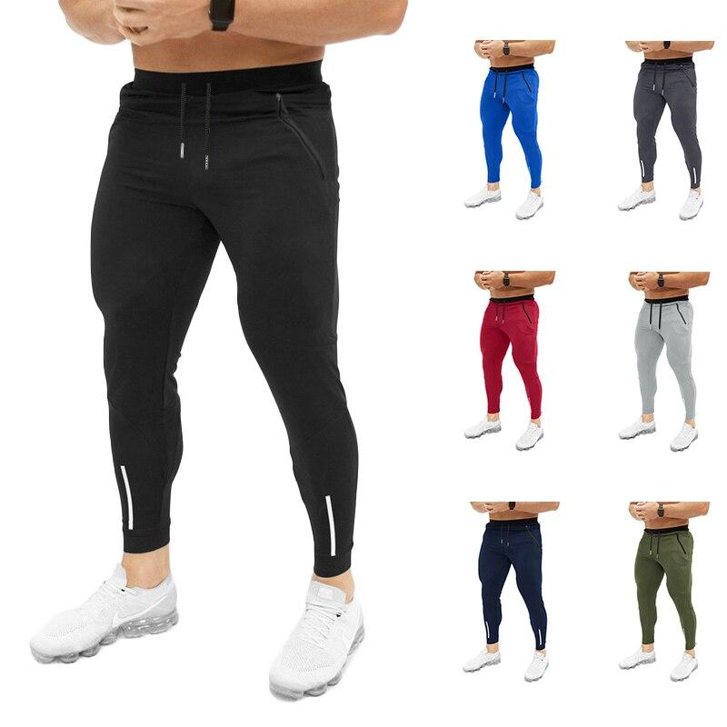 Autumn Winter Running Jogging Pants Men Slim Fit Joggers Bodybuilding Sweatpants Pantalon Homme Gym Training Pants Men Clothes
