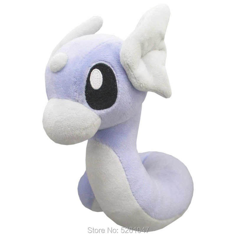 Original Pocket Monster Dratini Plush Doll Stuffed Animal Toy Pikachu 18cm Medium Kid Gift