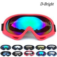 Gogle narciarskie i snowbordowe górskie okulary narciarskie skuter śnieżny sporty zimowe Gogle śnieg okulary PC UV 400 kobiety mężczyźni