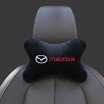 1 шт. чехол на автомобильный подголовник, чехол на автомобильное сиденье, подушка для подголовника и шеи для Mazda 2, Mazda 3 MS, для Mazda 6 CX-5 CX5, аксессуары