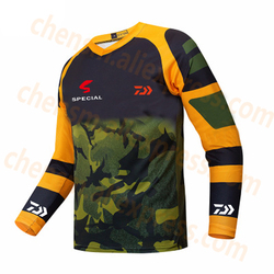 2019 New DAIWA Quick Drying Fishing Clothing Long Sleeve Sunscreen Anti uv Breathable Summer Fishing Shirt Autumn Fishing Jersey|Ubrania wędkarskie|Sport i rozrywka -