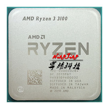 CPU Processor R3 3100 Amd Ryzen Quad-Core AM4 Ghz 65W L3--16m 100-000000184-Socket Eight-Thread