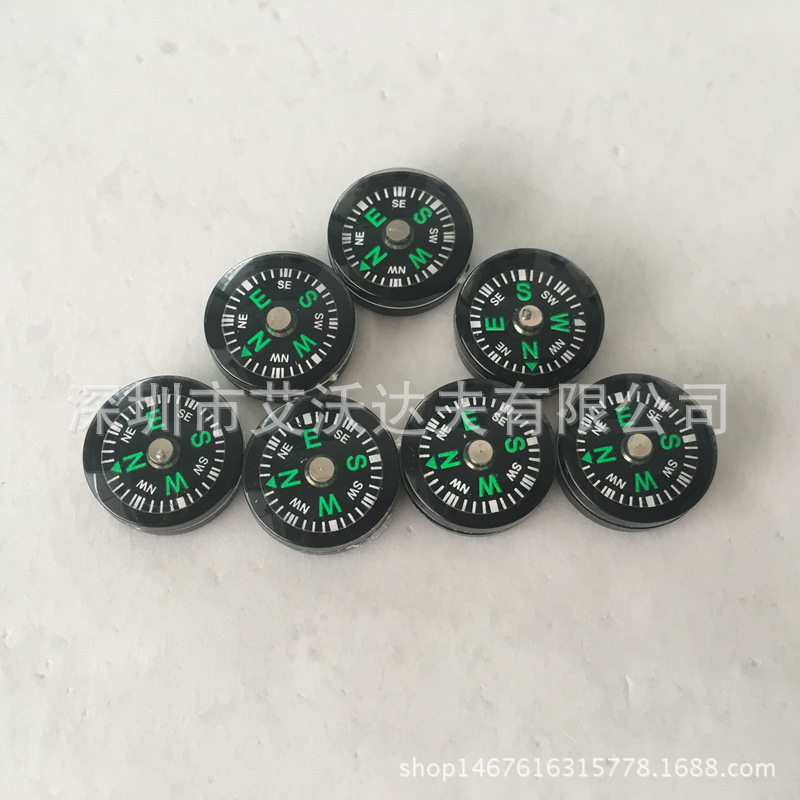14 Size Compass Manufacturers Profession Production, Outdoor Small Compass, Micro Plastic Oiling Compass