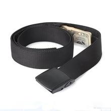 Outdoor Fashion Travel Waist Belt Security Money Belt With Hidden Money Pocket Hunting Camping Hiking Wallet Unisex Waist Belt red fox ремень money belt