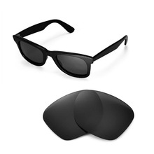 Walleva Polarized Replacement Lenses for Ray-Ban Wayfarer RB2140 50mm S