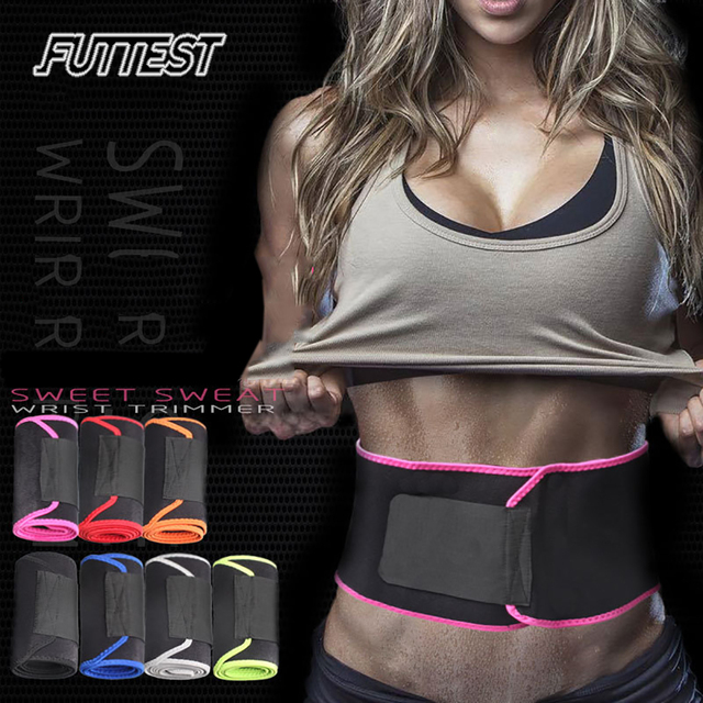 Futtest Adjustable Breathable Waist Fitness Training Belt Waist Support For Sports Trimmer Belt Sweat Utility Belt Custom