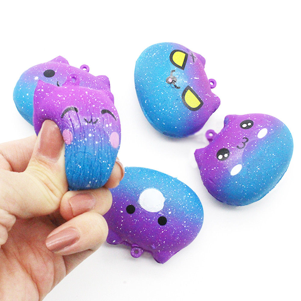 Kids Toys Scented-Stress Birthday Squishies Baby Galaxy Cream Christmas-Gifts Slow-Rising img3