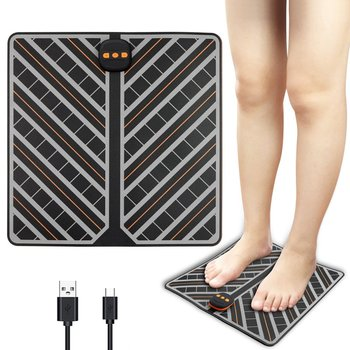 Foot Pad Foot Massager Private Mode Massage Physiotherapy Instrument Foot Massage Machine Pedicure Instrument Charging hanriver multifunctional physical therapy electrotherapy acupoints foot foot massager household 220 v pedicure machine