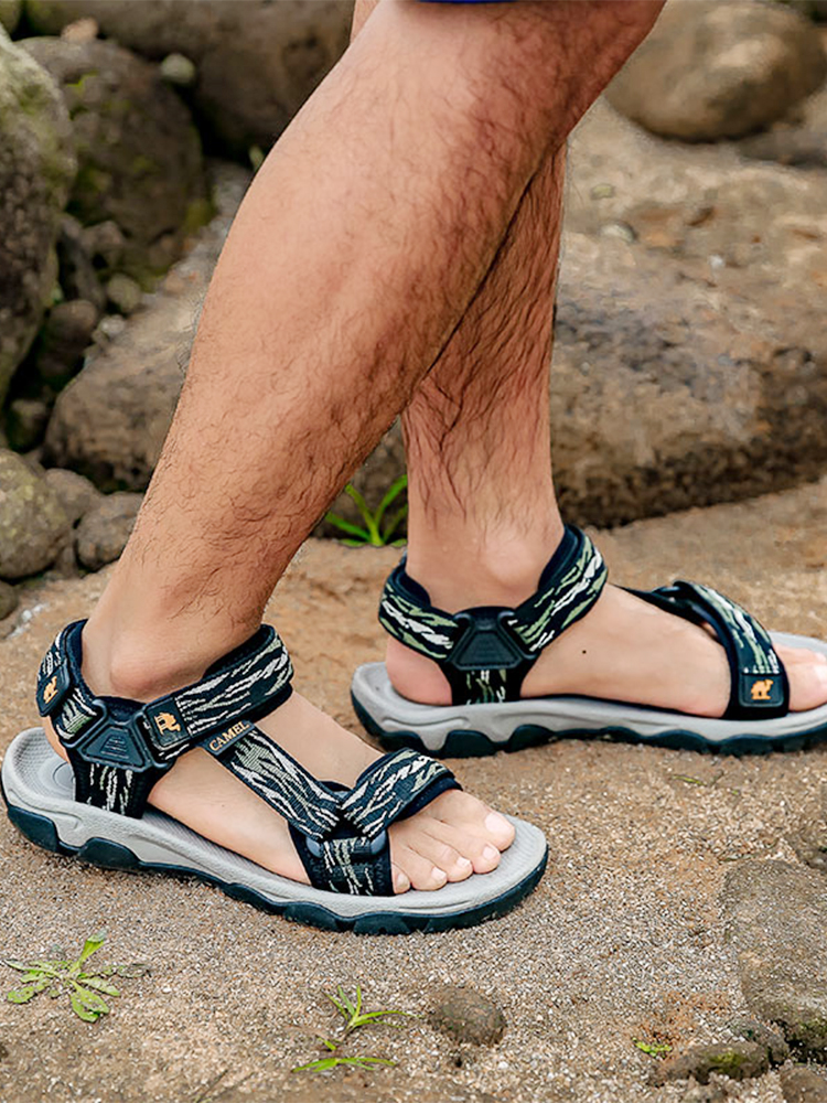 CAMEL Men's Sandals Non-Slip-Wear Casual-Shoes Lightweight Outdoor Summer New