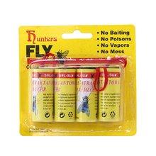 Клейкая ловушка для ловли мух 40 шт экологически Нетоксичная