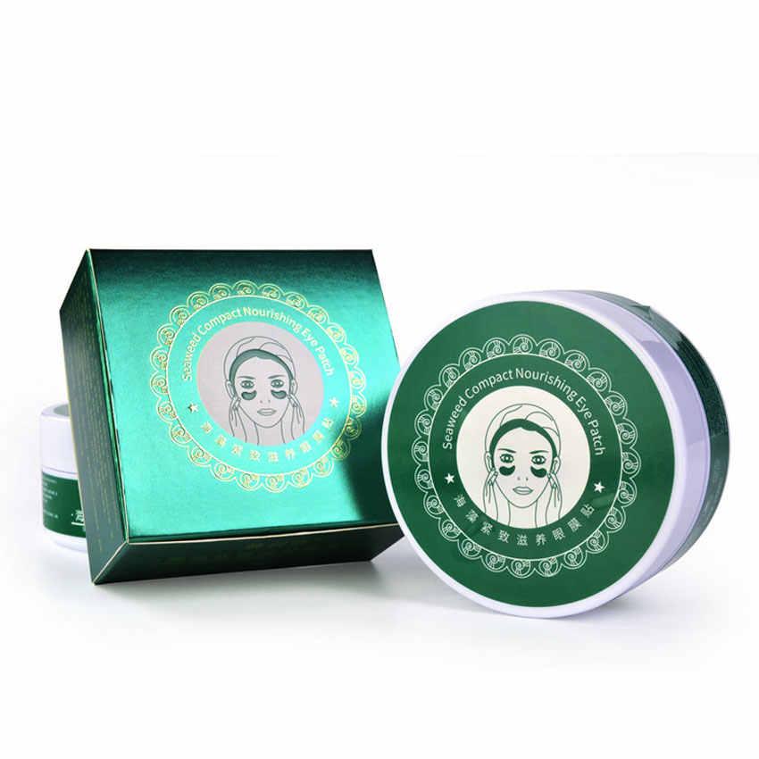 Kolagen Gel Masker Mata 60 Pcs Whitening Anti-Bengkak Patch Perawatan Wajah Anti Kerut Masker Penghilang Lingkaran Hitam Mata gel Kulit Mata