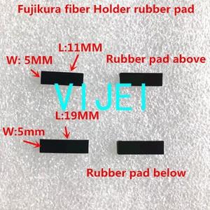 Image 2 - fiber fusion splicer fiber holder rubber pad  for FSM 60S 70S 80S 62S 22S 19S 70S+ 18S 18R 60R 70R fiber fusion splicer