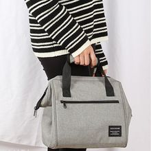 Portable Insulated Thermal Cooler Shoulder Lunch Bag Tote Travel Picnic Handbag Storage Box цена и фото