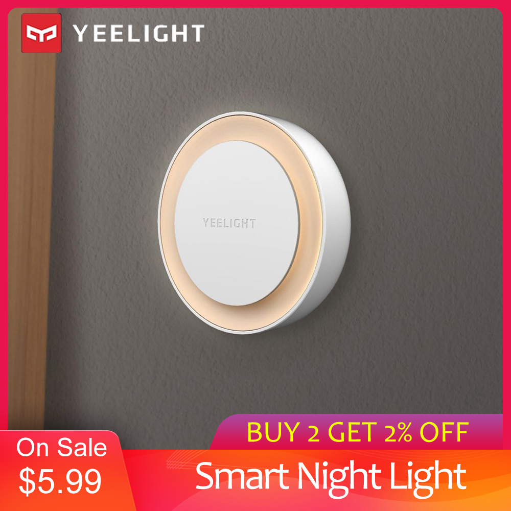 YEELIGHT YLYD10YL Smart Night Light 0.4W Low Power Consumption Intelligent Recognition Energy Saving 220V