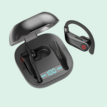 Handsfree Wirless Blutetooth V5.0 Oortelefoon Q62 Sport Sport Oordopjes Met Power Display(China)