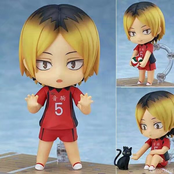 10CM Haikyuu Kenma Kozume nowy 605 # figurka zabawki z PVC kolekcja lalek anime model z kreskówki