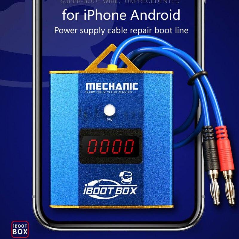 Механик OEM iBoot коробка Питание кабель для iPhone Android мобильный телефон ремонт загрузки линия материнская плата ремонт, блок питания