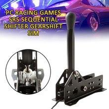 Jeux de course PC SRS manette de vitesse séquentielle levier de vitesse SIM pour Logitech G25 G27 G29 T300 T500 FANATEC frein à main USB frein à main
