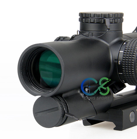 mira optica tatica iluminado r g rifle sniper escopo gs1 0340