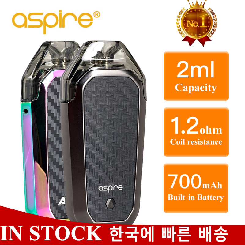 Electronic Cigarette Aspire AVP Kit Vape Pod 2ml Atomizer 1.2ohm Coil Built-in 700mAh Battery Vaporizador Vaper VS Minifit Kit