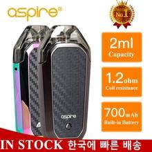 Vaper Aspire AVP ערכת Vape Pod 2ml מרסס סיגריות אלקטרוניות 1.2ohm סליל Built in 700mAh סוללה vaporizador VS minifit ערכת
