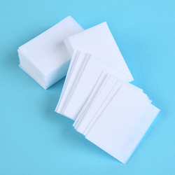 100PCS Nail Polish Remover Wipes Bath Manicure Gel Lint-Free 100% Cotton Napkins For Nails Art Accessories